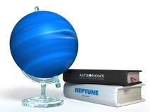 Kugel von Neptun 3D Lizenzfreie Stockbilder