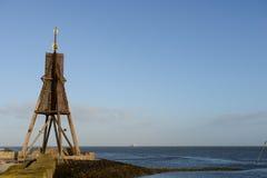 Kugelbarke on german coast Stock Image