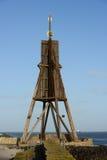 Kugelbarke on german coast Stock Photography