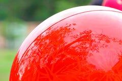 Kugelförmige Reflexion Stockfoto