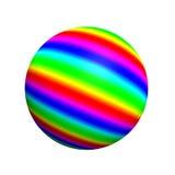 Kugelförmige Taste 3D Lizenzfreies Stockbild