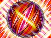 Kugelförmiger Blitz lizenzfreie abbildung
