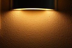 Kugelförmige Leuchte Stockbild