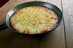 Kugelis - baked potato pudding Stock Image