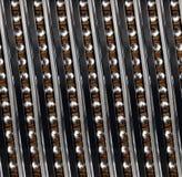 Kugellager-Zusammenfassung Fractal des nahtlosen Musters linearer industrieller Vertikales diagonales links des Kugellagers zeich lizenzfreie abbildung