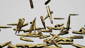 Kugeln, die unten fallen stock video footage
