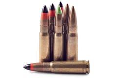 Kugeln für Kalaschnikow Stockfoto