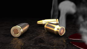 Kugeln im Blut 3 stock video