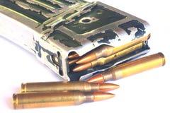 Kugeln (Munition) für Gewehr Lizenzfreie Stockfotos