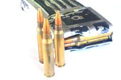 Kugeln (Munition) für Gewehr Lizenzfreies Stockbild
