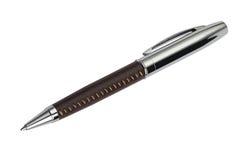 Kugelschreiber getrennt auf Weiß Lizenzfreies Stockbild