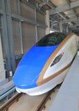 Kugelzug Japan Hokuriku Sinkansen Stockbild
