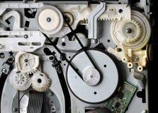 Kuggar och drev i elektronisk utrustning Arkivfoto