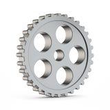 kuggekugghjul för metall 3d Arkivbild