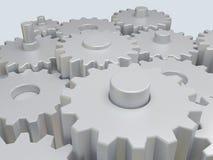 kugghjul Arkivbild