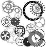 Kugghjul royaltyfri illustrationer