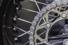 Kugghjul av motorcykeln Royaltyfri Bild