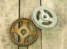 Kugghjul block Fotografering för Bildbyråer