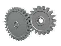 kugghjul 3d vektor illustrationer