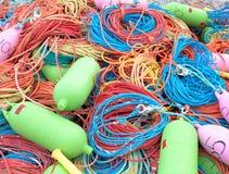 Kugghjul för industriellt fiske Royaltyfri Fotografi