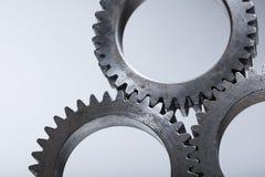 Kugghjul för staplad maskin Royaltyfria Bilder