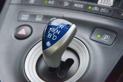 Kugghjul i bil Arkivbild