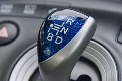 Kugghjul i bil Royaltyfria Bilder