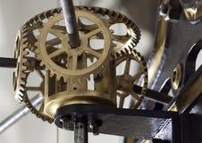 Kugghjul i klockan Royaltyfria Foton
