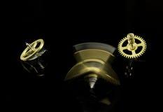 Kugghjul med rörelsesuddighet Fotografering för Bildbyråer