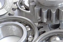 Kugghjul och lager Fotografering för Bildbyråer