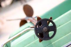 Kugghjul och utrustning för lång-svans fartyg Arkivfoton