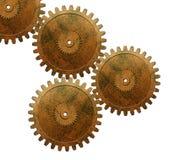 Kugghjul som används i automatisk motor arkivbild