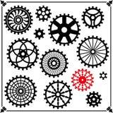 Kugghjulen Arkivfoton