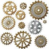 Kugghjulen Arkivbilder