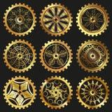 Kugghjulen Royaltyfri Bild