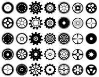 Kugghjulhjul Royaltyfri Illustrationer