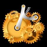 Kugghjulpumpa vektor illustrationer