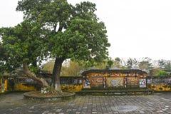 Kugghjulskärm i Truong Sanh Residence Royaltyfria Foton