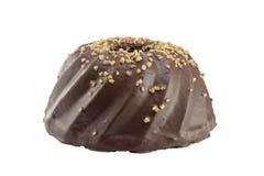 Kuglof delicioso del chocolate fotografía de archivo