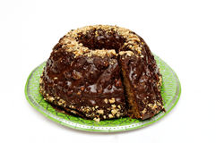 Kuglof-Kuchen Lizenzfreie Stockfotos