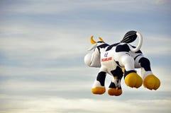 Kuh-Ballon Stockfotografie
