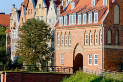 Kuh-Gatter in Gdansk Lizenzfreie Stockfotos