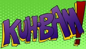 Kuhbam que golpea el sonido Imagen de archivo