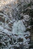 Kuhflucht in de hoogste Waterval van Farchant Royalty-vrije Stock Fotografie