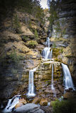 Kuhflucht vattenfall Arkivbilder