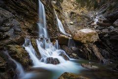 Kuhflucht vattenfall Arkivbild