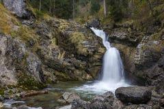 Kuhflucht Waterfall. Near Garmisch-Partenkirchen, Germany Stock Photo