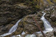 Kuhflucht Waterfall. Near Garmisch-Partenkirchen, Germany Royalty Free Stock Photography