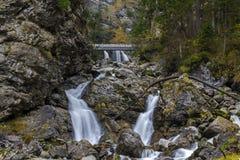 Kuhflucht Waterfall. Near Garmisch-Partenkirchen, Germany Stock Photos