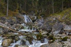 Kuhflucht Waterfall. Near Garmisch-Partenkirchen, Germany Stock Image